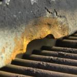 Excessive corrosion