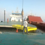 Transshipment due to grounding